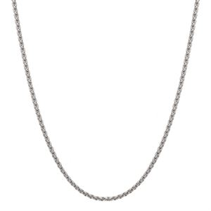 """Picture of Silver Foxtail Chain - 30"""""""